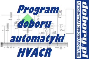 program doboru automatyki central klimatyzacyjnych HVACR