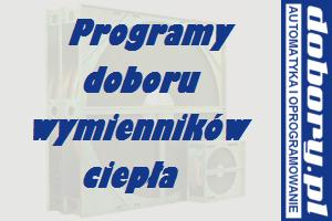program doboru wymiennika obrotowego