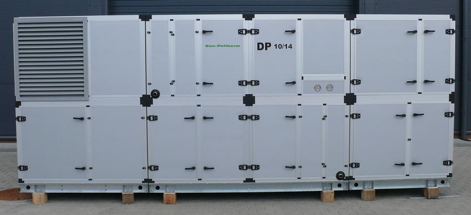 Centrala wentylacyjno-klimatyzacyjna wyprodukowana przez firmę Dan-Poltherm