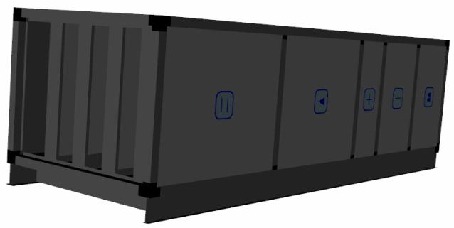 centrala klimatyzacyjna nawiewna - kontrola wilgotności - osuszanie powietrza nawiewanego