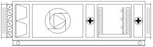 Centrale klimatyzacyjne i ich parametry na wykresie Moliera - centrala klimatyzacyjna z nawilżaczem adiabatycznym