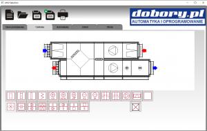 projektowanie automatyki wentylacji - konfiguracja centrali klimatyzacyjnej